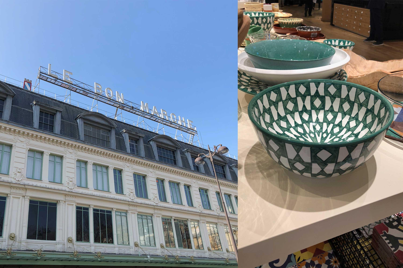 paris, le bon marche, French lifestyle, department store, French shopping, art de vivre