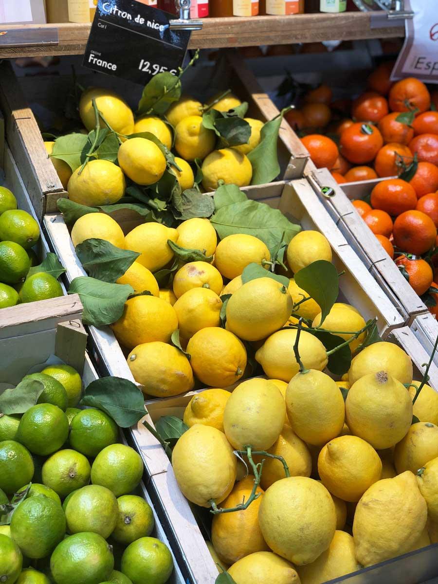 lemons citrons nice