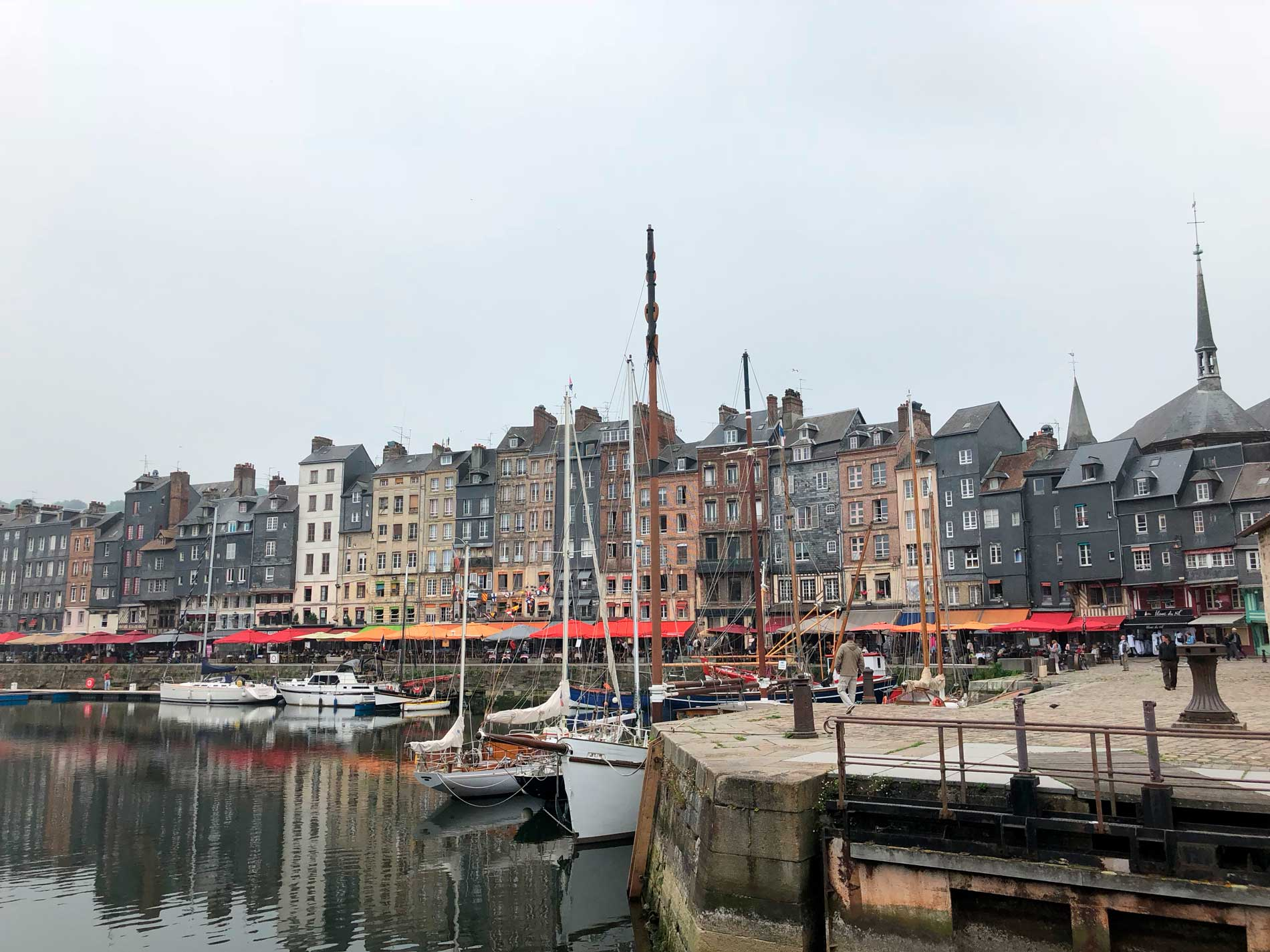 trouville, normandy, France, harbour