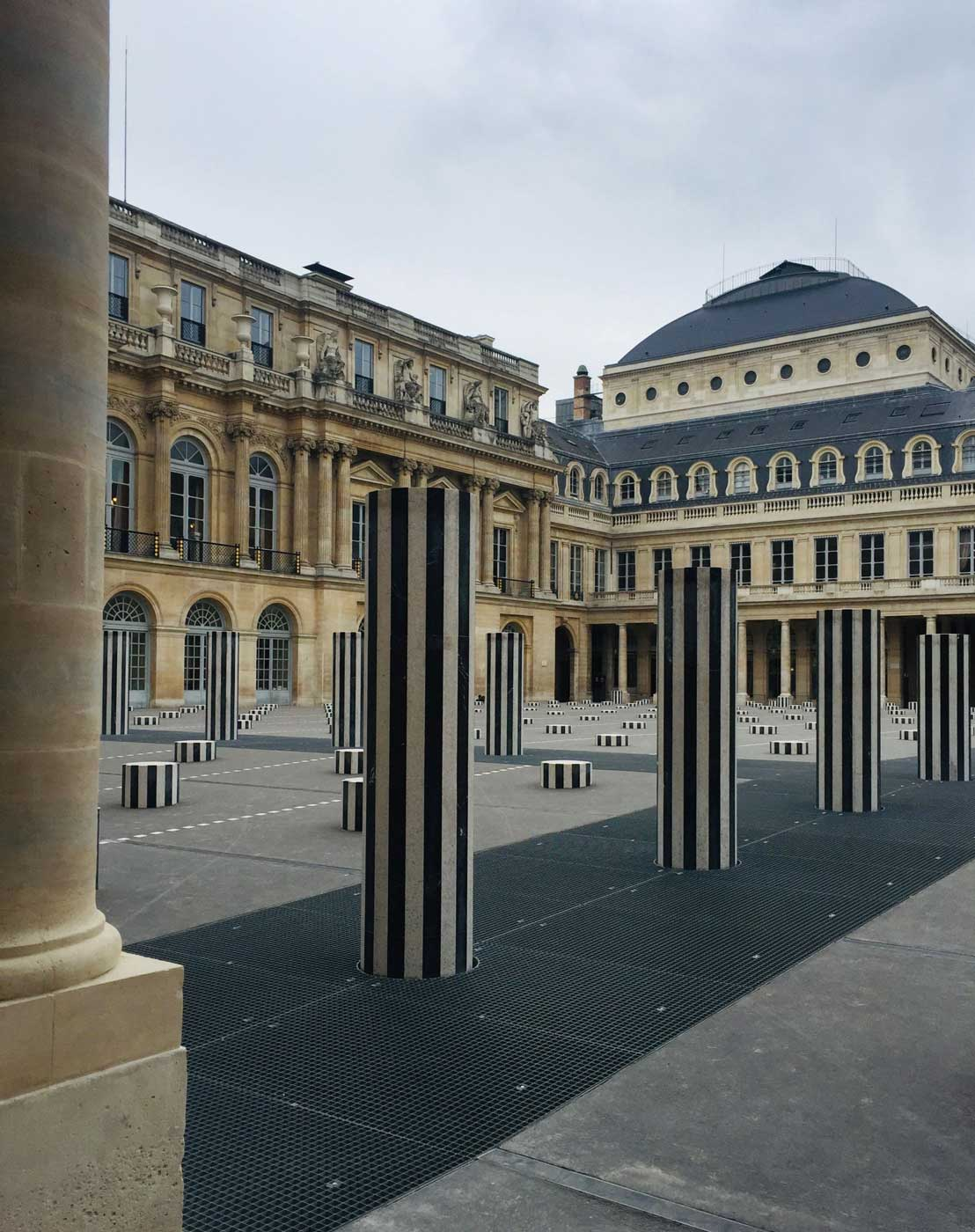 Palais Royal paris morning
