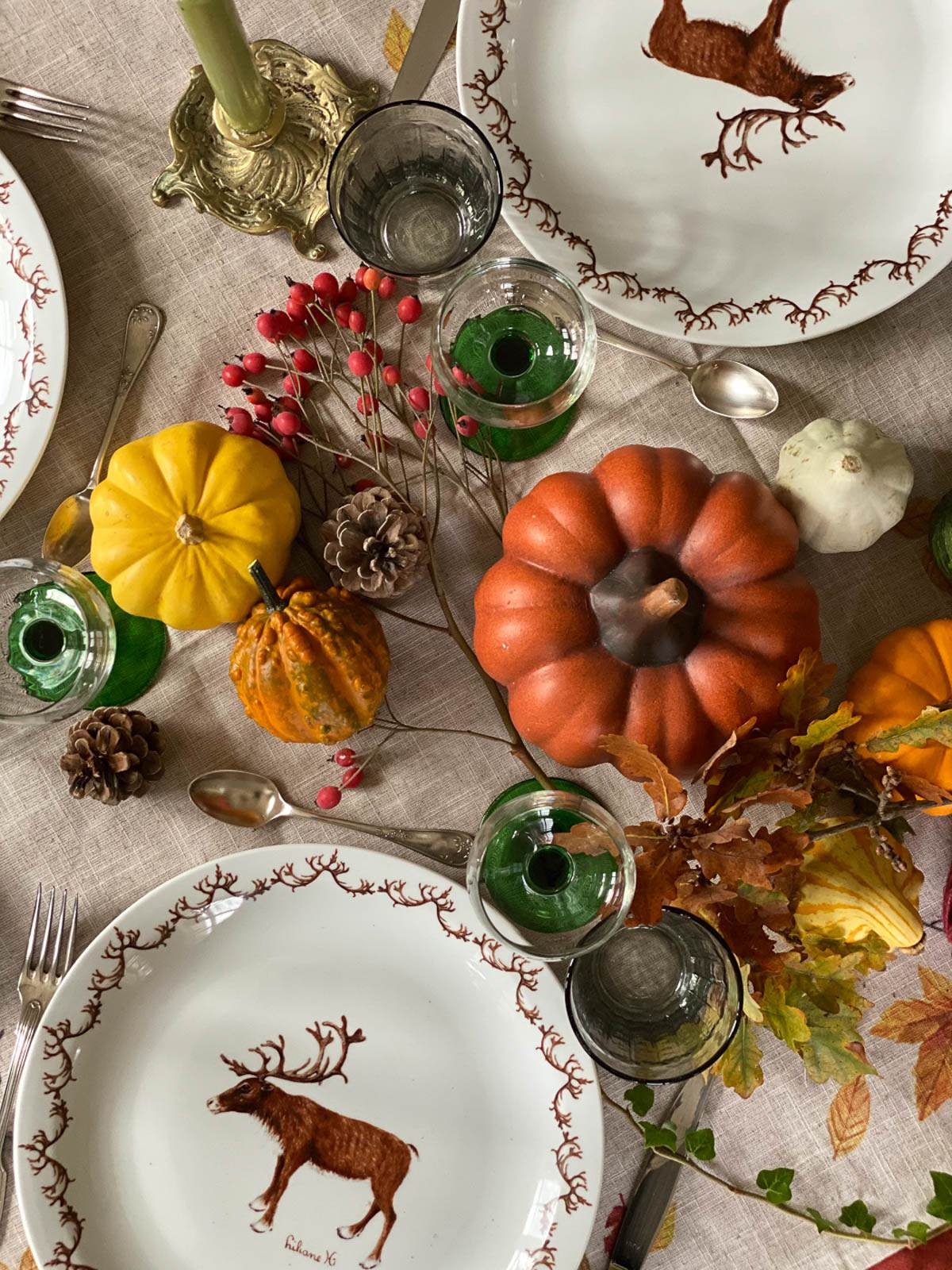 An abundant Autumn table