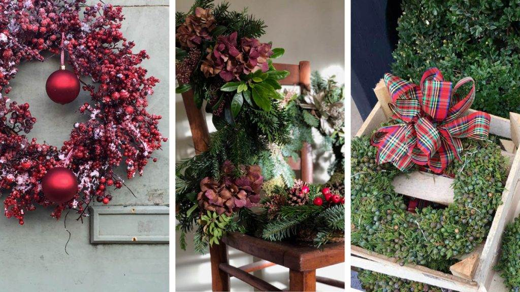 christmas wreaths inspiration