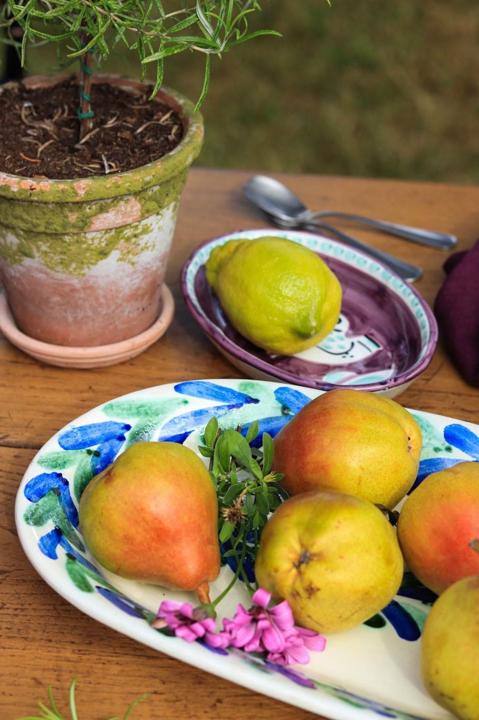 dresser-une-table-italienne-fruits