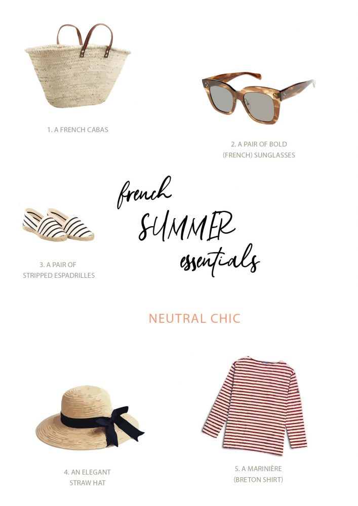 French summer essentials